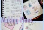 making plans