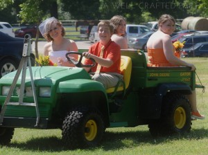 John Deere Wedding Gator