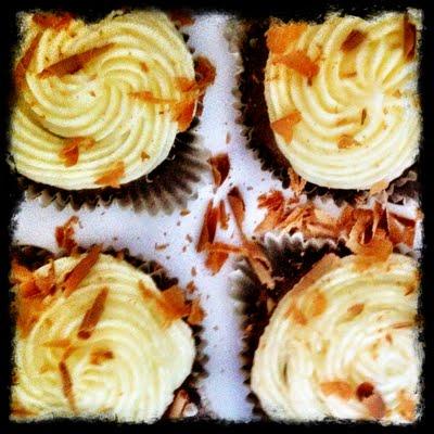 {Recipe} Mocha Cupcakes