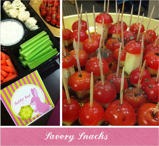 Woodland Themed Party Snacks