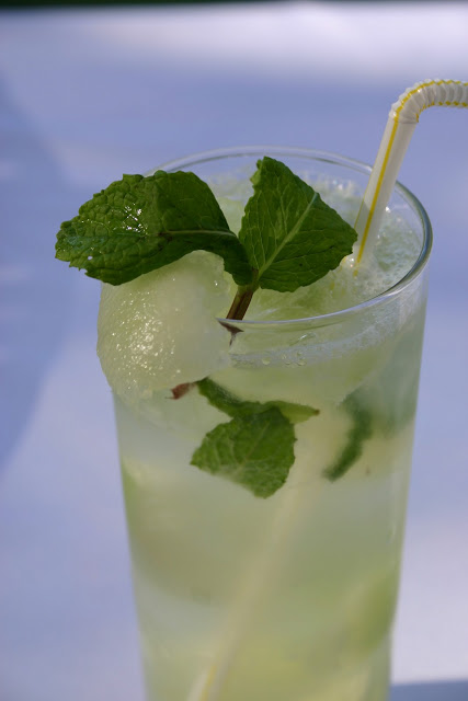 Cocktail Recipe: Honeydew Melon Mojito
