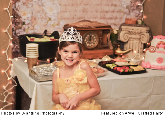 Real Parties: Elegant Disney Princess Party