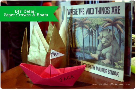 {Real Party} Where the Wild Things Are First Birthday