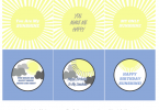 Blue Sunshine Printable