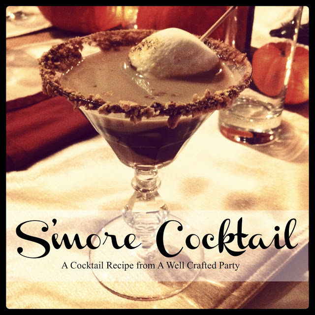 {Recipe} Smore Cocktail