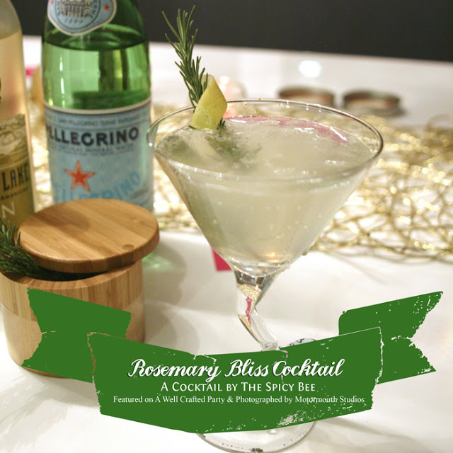 {Recipe} Rosemary Bliss Cocktail