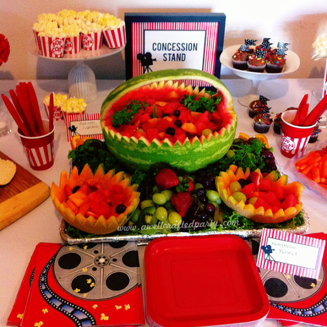 {Real Party} A Movie Themed Bridal Shower
