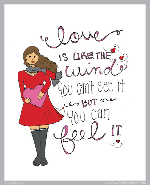 {Printables} Celebrating Love