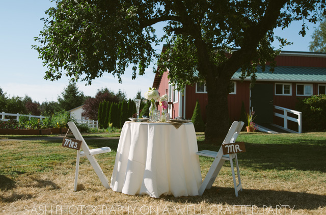 {Real Parties} Vintage Sweet Portland Wedding