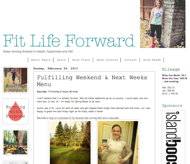 {What a Weekend!} Featuring Kayla of Fit Life Forward