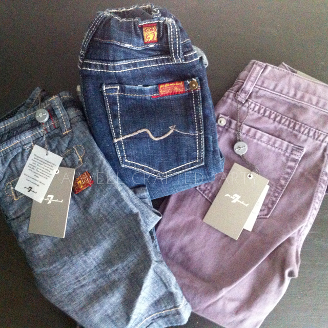 Jeans from 7 for all Mankind