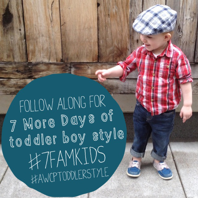 7 Days of Toddler Style with 7 for All Mankind