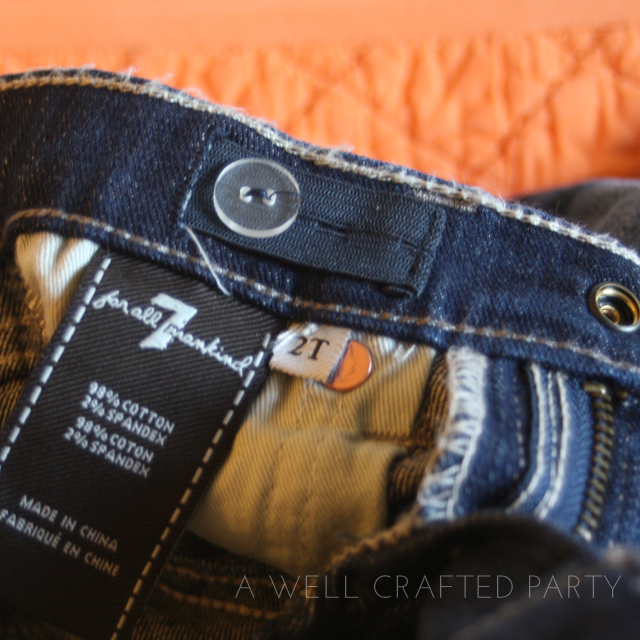 7 For All Mankind Toddler Jeans