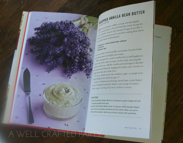Recipe: Whipped Vanilla Bean Butter from Flavored Butters by Lucy Vaserfirer