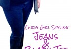 Curvy Girl Styling of Jeans and a Black Tee