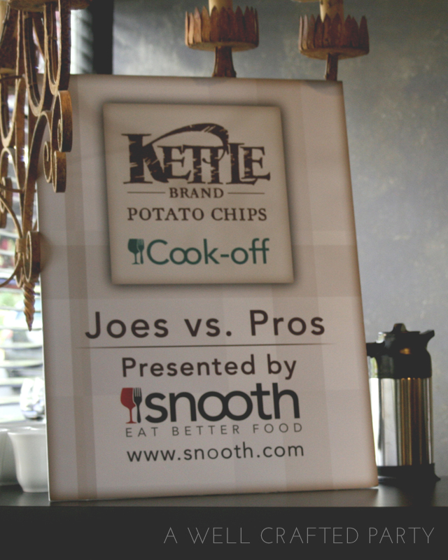 Kettle Chips and Snooth.com Pros vs. Joes