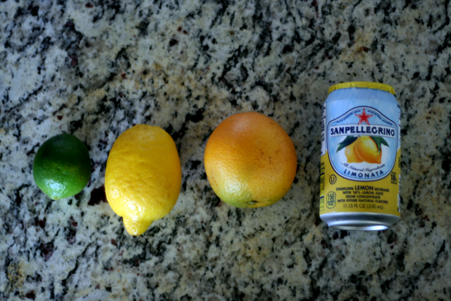 Ingredients for His & Her Longbeach Lemonade— Just add your favorite liquor!