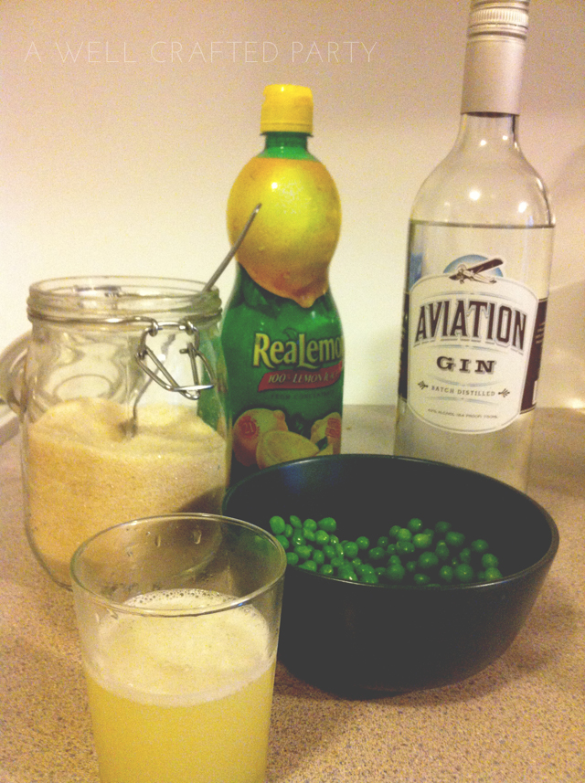 Cocktail Recipe: Sweet Pea Cocktail