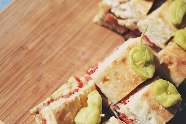 Italian Pressed Sandwiches— Photo by Motormouth Studios