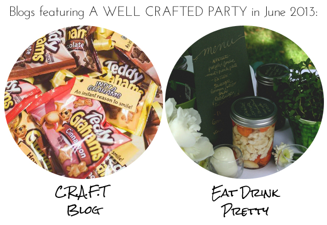 A Well Crafted Party June 2013 Features