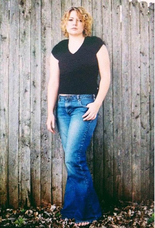 Me at my smallest adult size. Please excuse the bell bottoms!