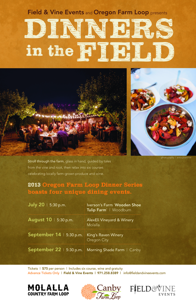 Things to Do: Field and Vine Events' Dinners in the Field