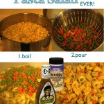 Super Easy Pasta Salad // A Well Crafted Party