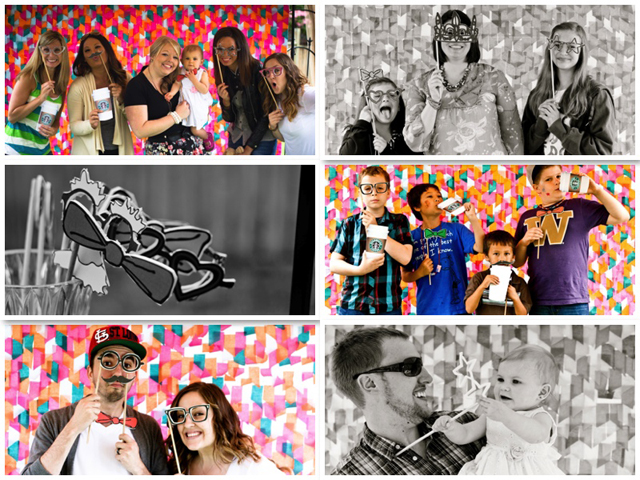 Summer Entertaining Series: First Birthday Photo Booth Fun from Life By Lindsay