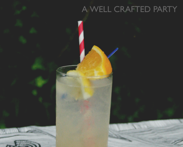 Fruity Version of a Whiskey Collins