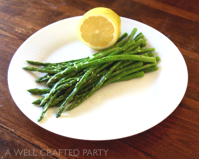 Local Plate Simple Asparagus