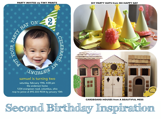 Second Birthday Inspiration Board