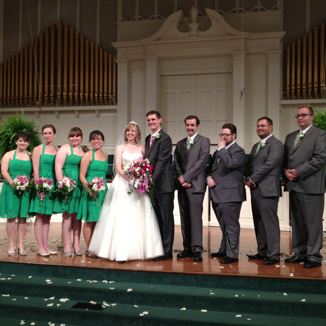 Sis in law got married!