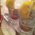 Oyster Shooters— gotta get seafood when you are this close to the coast!