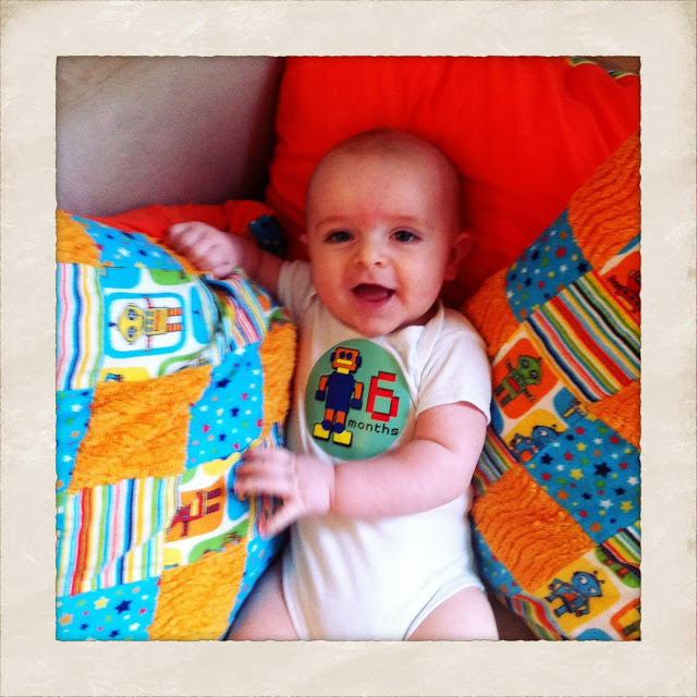 Monthly Photos: Six Months Old