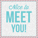 Nice to Meet You: Favorite Things You've Made