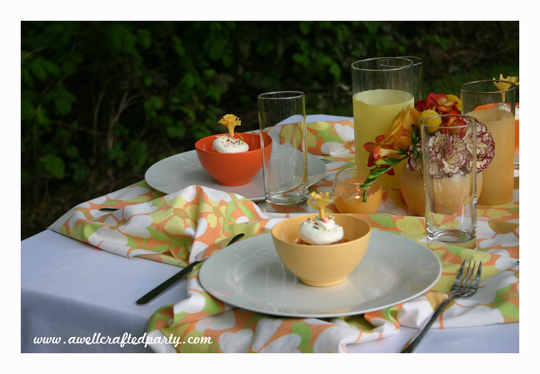 Pretty Summer Tablescape Pt. 2