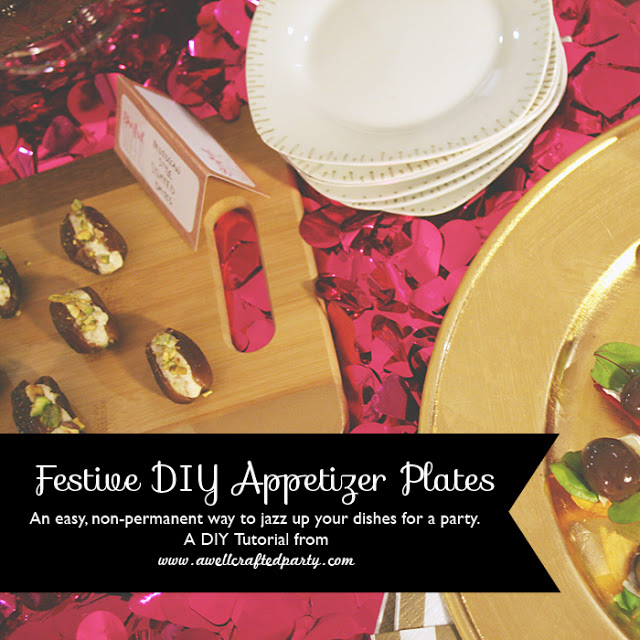 DIY: Festive Appetizer Plate Upgrade