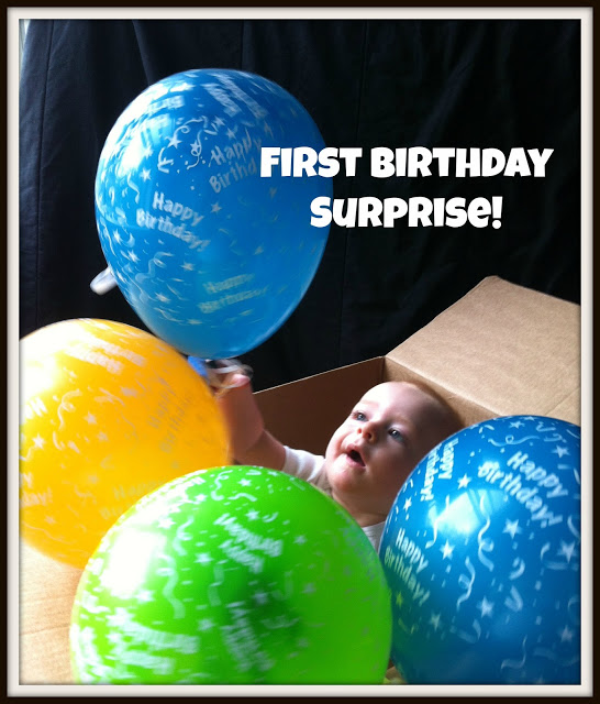 First Birthday Surprise