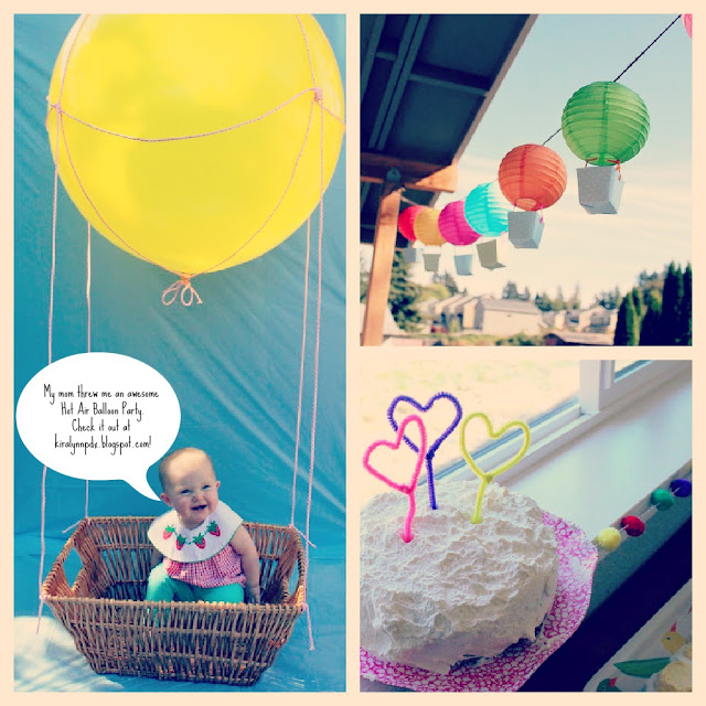 Friday Finds: Hot Air Balloon First Birthday Party