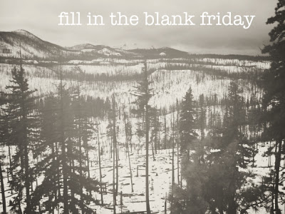 Fill in the Blank Friday: Dec 2