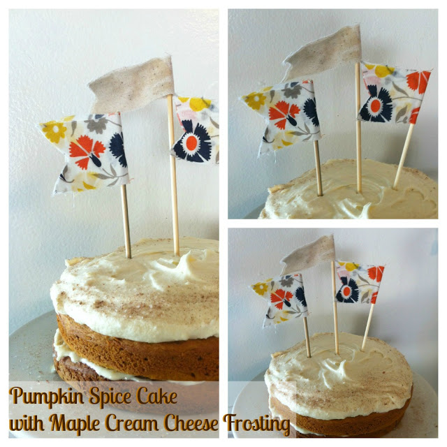 Recipe: Pumpkin Spice Cake with Maple Cream Cheese Frosting