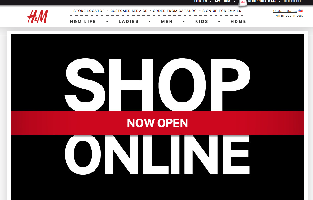 What I'm Loving: H&M is ONLINE!
