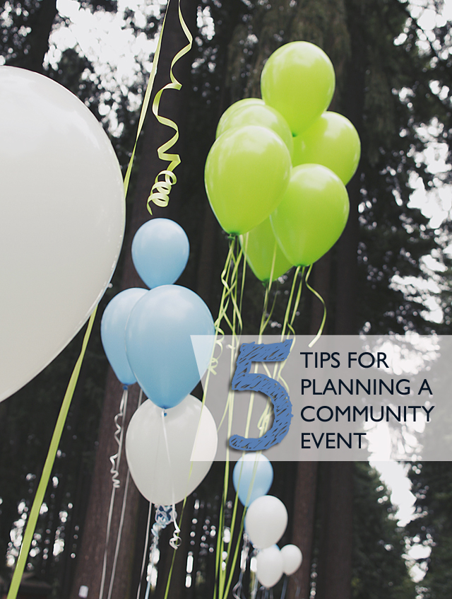 Five Tips for Planning a Community Event + Portland Bloggers Picnic Review
