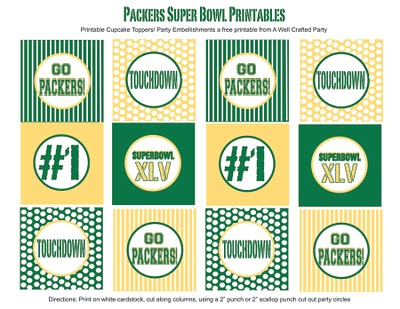 Super Bowl Printables!