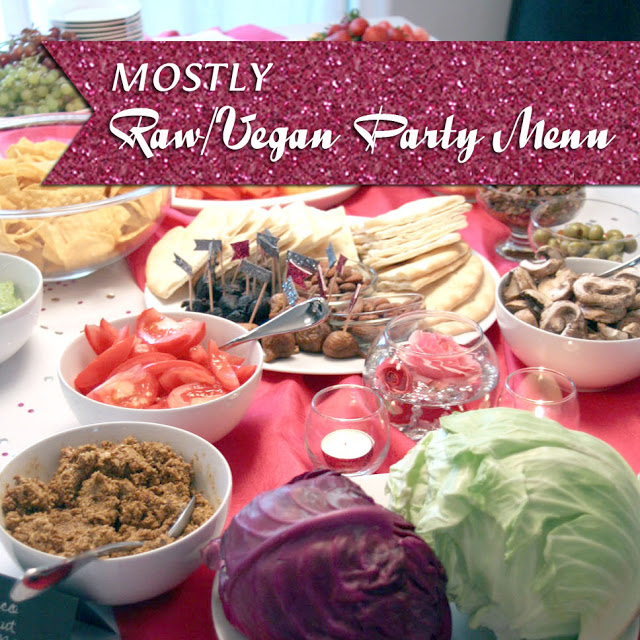 {Recipe} Raw Vegan Party Menu