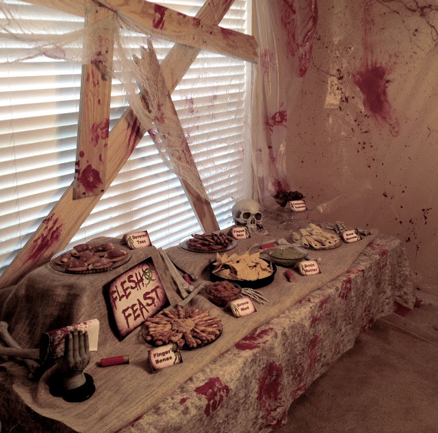 {Real Party} Zombie Apocalypse