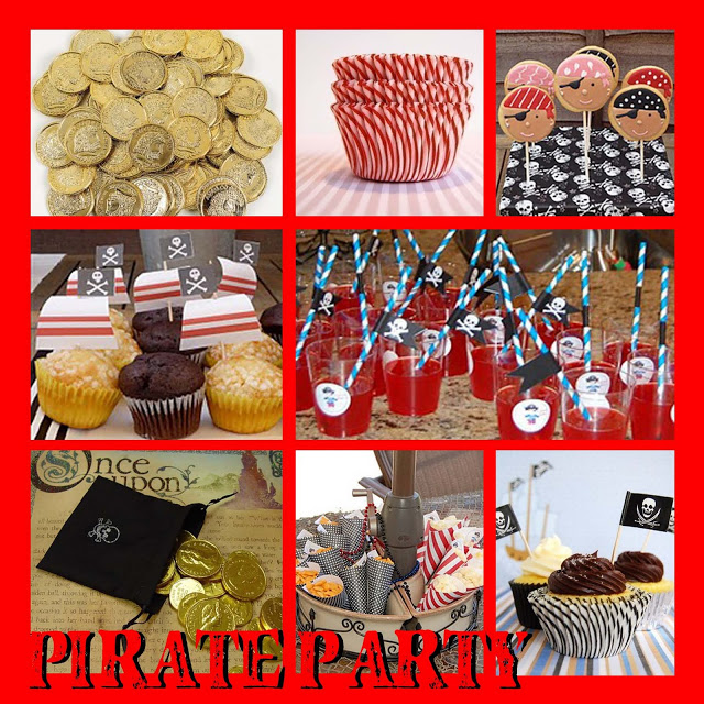 Hardy Har Har… a Pirate Party Inspiration Board