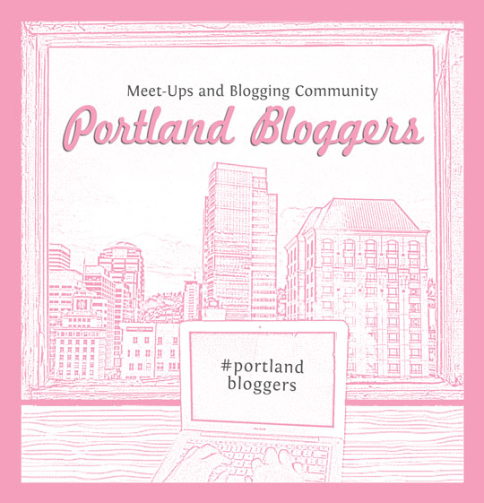 Portland Bloggers Button