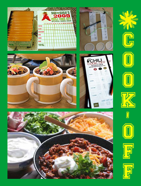 Inspiration Board: Super Bowl Party Food/Activity