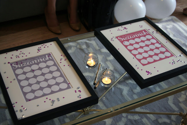 {Real Party} Pink and Glamorous 25th Birthday Party Decor